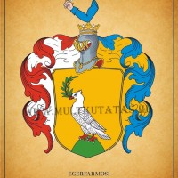 Póka család nemesi címere Egerfarmos 1697