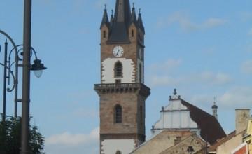 Evangélikus szász templom beszterce