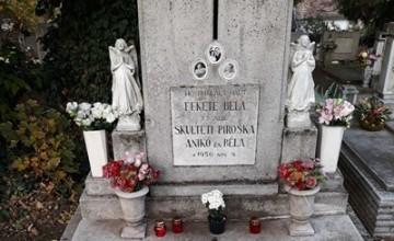 Fekete Béla Skultéti Piroska Pécel hősi halottak 1956 3