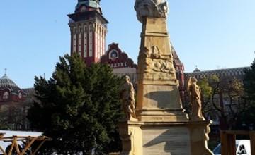 szabadka városháza levéltár szentháromság szobor